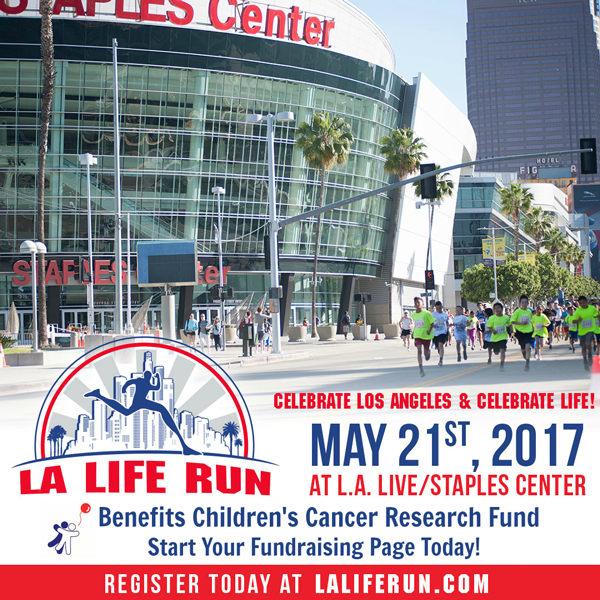 LA Life Run on May 21st 2017