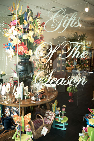 Gifts of the Season store sign